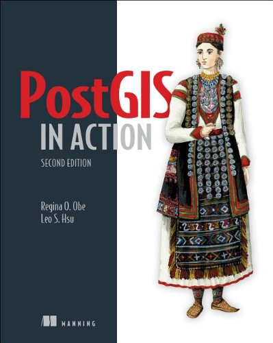 PostGIS in Action  2nd 2014 edition cover