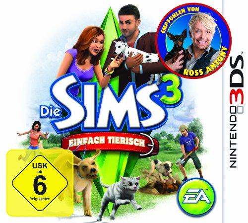 Die SIMS 3 EINFACH TIERISCH for Nintendo 3DS game(EURO) Nintendo 3DS artwork