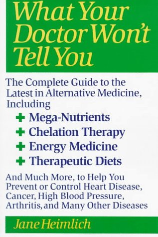What Your Doctor Won't Tell You  N/A 9780060965396 Front Cover