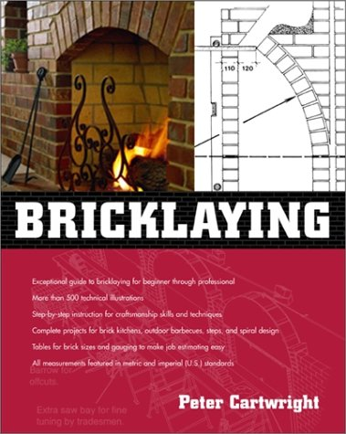 Bricklaying   2002 9780071392396 Front Cover