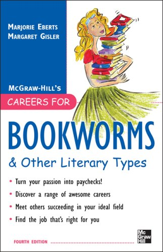 Careers for Bookworms and Other Literary Types  4th 2009 edition cover