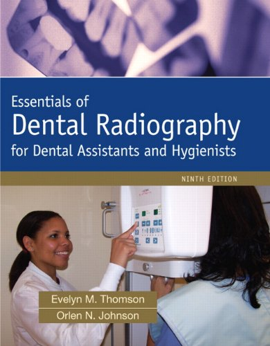 Essentials of Dental Radiography  9th 2012 edition cover