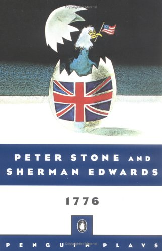 1776 A Musical Play  1976 edition cover