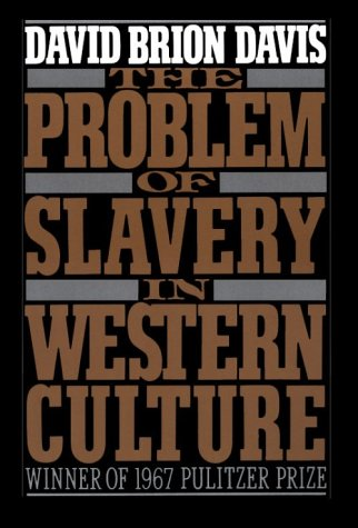 Problem of Slavery in Western Culture   1988 edition cover