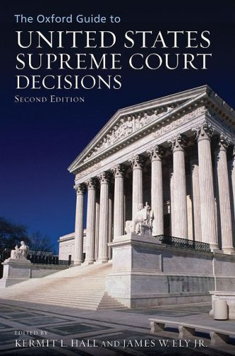 Oxford Guide to United States Supreme Court Decisions  2nd 2009 edition cover