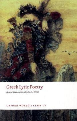 Greek Lyric Poetry   2008 edition cover