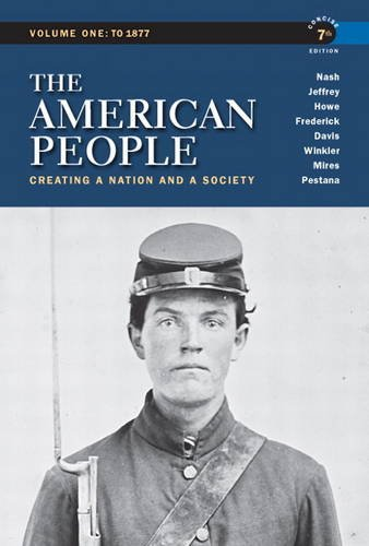 American People Creating a Nation and a Society 7th 2011 edition cover
