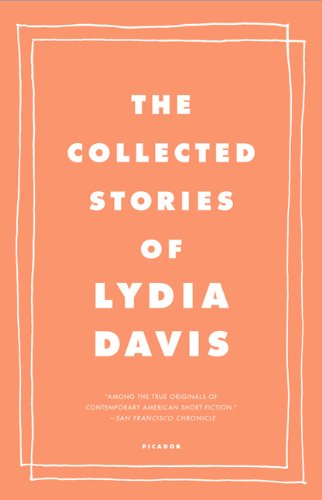 Collected Stories of Lydia Davis   2010 edition cover