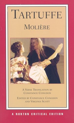 Tartuffe A New Verse Translation  2008 edition cover