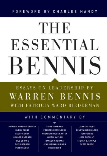 Essential Bennis   2009 edition cover
