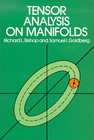 Tensor Analysis on Manifolds   1980 (Reprint) edition cover