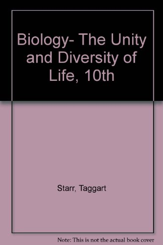 Biology The Unity and Diversity of Life W/Cd/Infotrac (Paper) 10th 2004 9780495109396 Front Cover