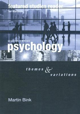 Featured Studies Rdr-Psychology Themes and Variations 7th 2007 9780495170396 Front Cover