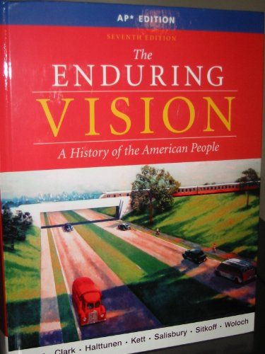 ENDURING VISION,ADVANCED PLACEMENT ED. 7th edition cover