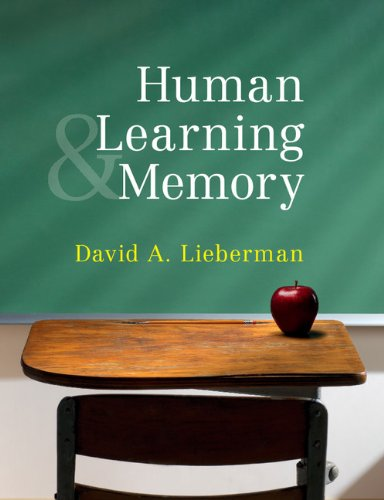 Human Learning and Memory   2011 edition cover