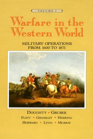 Warfare in the Western World Military Operations from 1600 to 1871  1996 edition cover