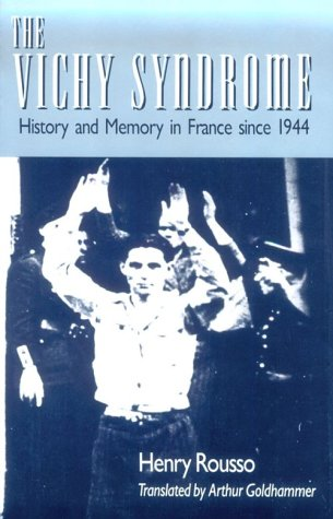 Vichy Syndrome History and Memory in France since 1944  1991 edition cover