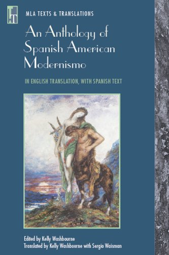 Anthology of Spanish American Modernismo In English Translation, with Spanish Text  2007 edition cover
