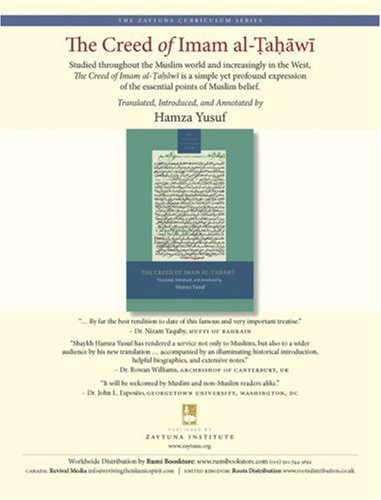Creed of Imam Al-Tahawi   2008 edition cover