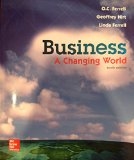 Business A Changing World 10th 2016 9781259179396 Front Cover
