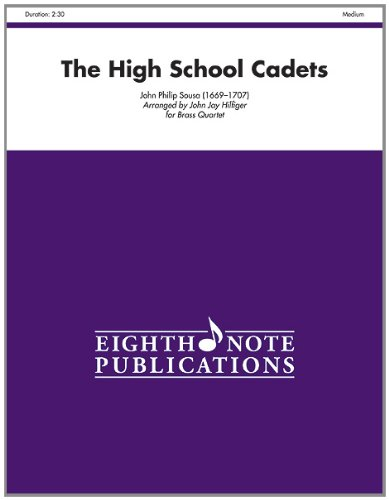 High School Cadets Score and Parts  2010 edition cover