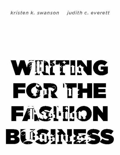 Writing for the Fashion Business   2008 edition cover