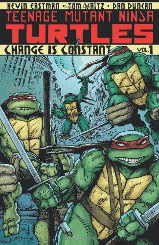 Teenage Mutant Ninja Turtles Volume 1: Change Is Constant Change Is Constant  2012 edition cover