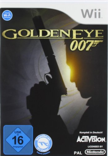 James Bond: GoldenEye 007 Nintendo Wii artwork