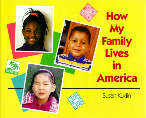 How My Family Lives in America  N/A 9780027512397 Front Cover