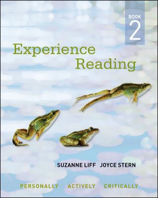 Experience Reading   2011 9780073292397 Front Cover