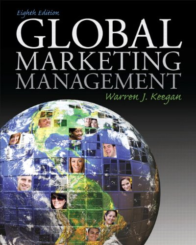 Global Marketing Management  8th 2014 edition cover