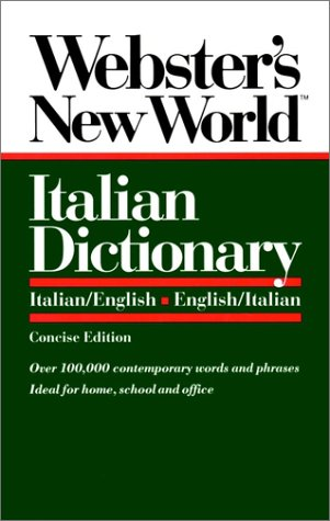Italian Dictionary   1992 (Abridged) 9780139536397 Front Cover