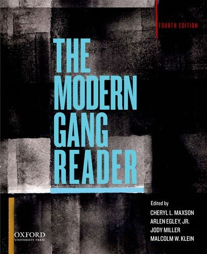 Modern Gang Reader  4th 2014 edition cover