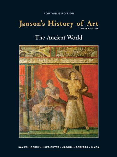 Janson's History of Art Portable Edition Book 1  7th 2010 edition cover