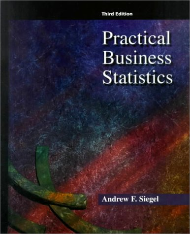 Practical Business Statistics  3rd 1997 9780256257397 Front Cover
