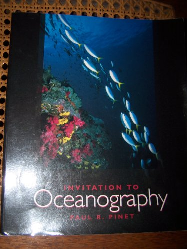 Invitation to Oceanography  N/A 9780314063397 Front Cover