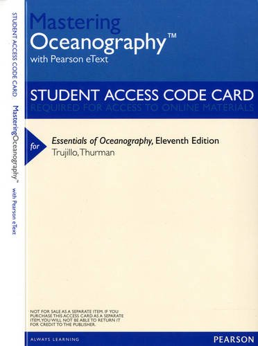 ESSENTIALS OF OCEANOGRAPHY-ACC N/A edition cover