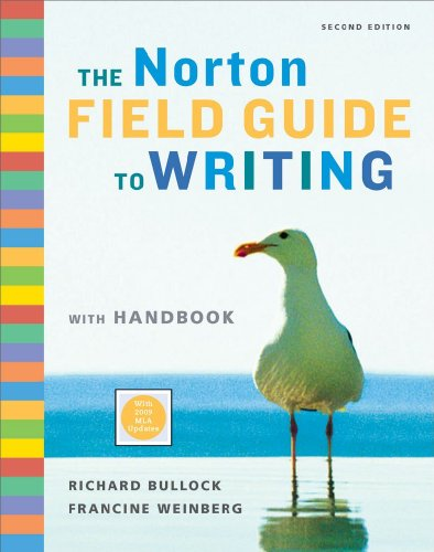 Norton Field Guide to Writing with Handbook  N/A edition cover