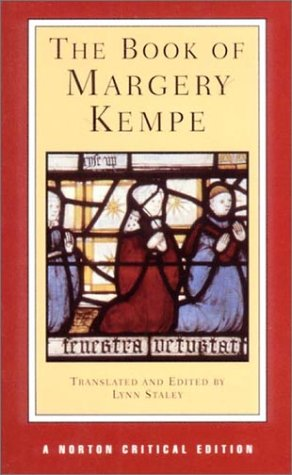 Book of Margery Kempe   2001 edition cover