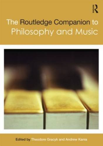 Routledge Companion to Philosophy and Music   2011 edition cover