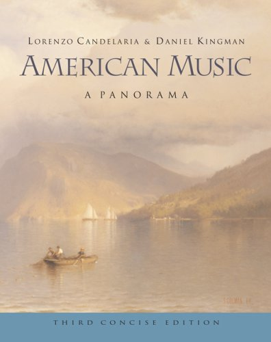 American Music A Panorama 3rd 2007 (Revised) edition cover