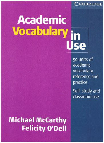 Academic Vocabulary in Use   2008 edition cover