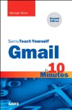Gmail in 10 Minutes, Sams Teach Yourself  2nd 2015 edition cover