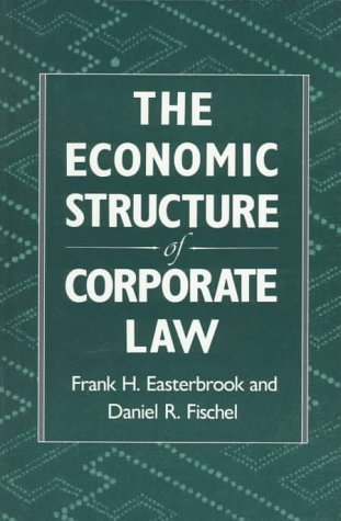 Economic Structure of Corporate Law   1991 edition cover