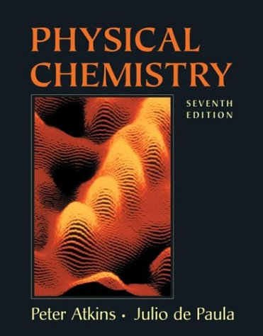 Physical Chemistry  7th 2001 edition cover
