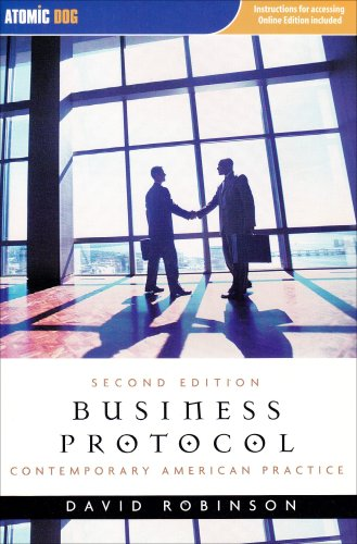 Business Protocol Contemporary American Practice 2nd 2007 9780759392397 Front Cover