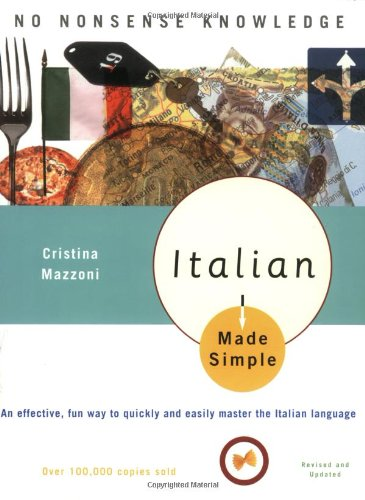 Italian Made Simple  2nd 2003 (Revised) edition cover