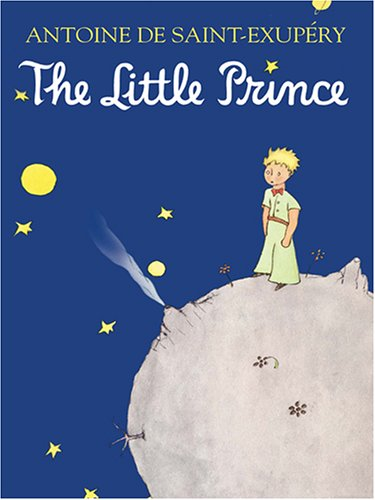 Petit Prince  Large Type edition cover