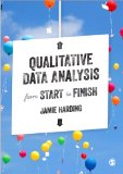 Qualitative Data Analysis from Start to Finish   2013 edition cover