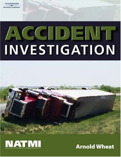 Accident Investigation Training Manual   2005 9781401869397 Front Cover